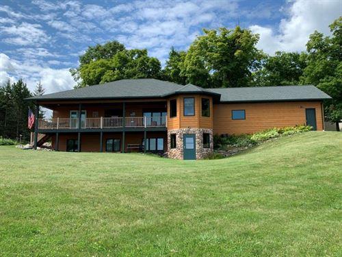 Remarkable Lake Julia Home Auction : Bemidji : Beltrami County : Minnesota