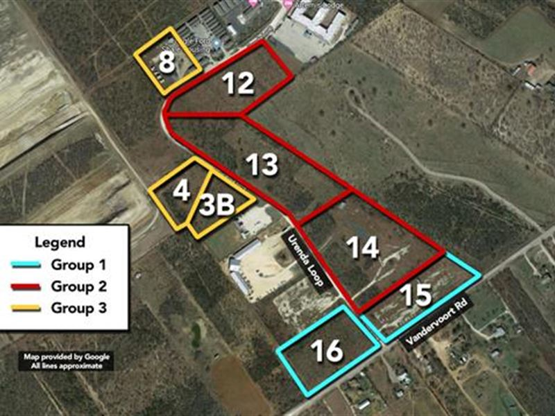 Sells Without Reserve Seller : Carrizo Springs : Dimmit County : Texas