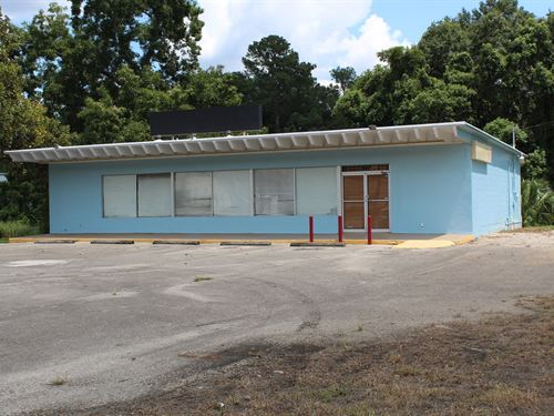 Commercial Building Property, US 19 : Monticello : Jefferson County : Florida