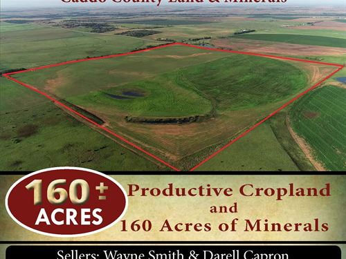 160 Acres Land And Minerals : Hydro : Caddo County : Oklahoma