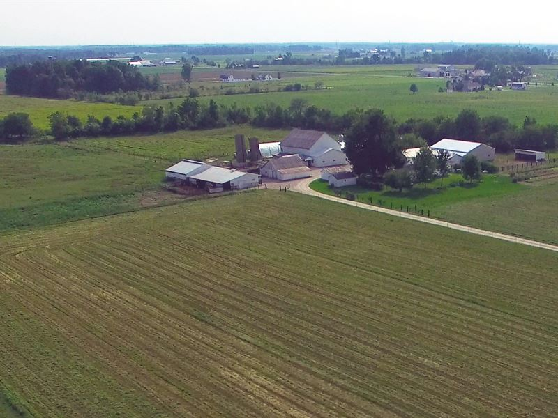 Farmstead Auction In Indiana : New Haven : Allen County : Indiana