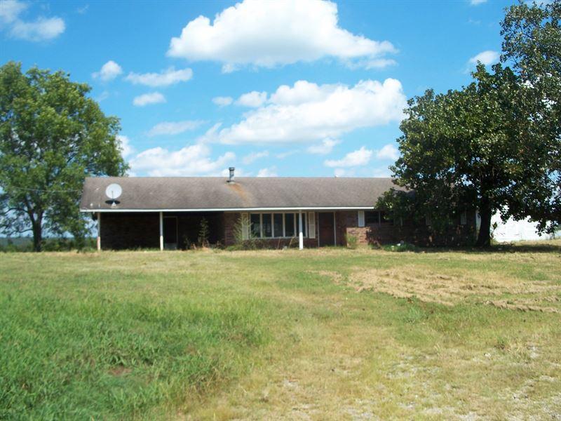 Leflore Co, OK 25 Acre Farm, Brick : Bokoshe : Le Flore County : Oklahoma