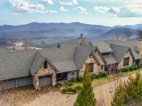Auction Luxury Mountain Home : Mill Spring : Polk County : North Carolina