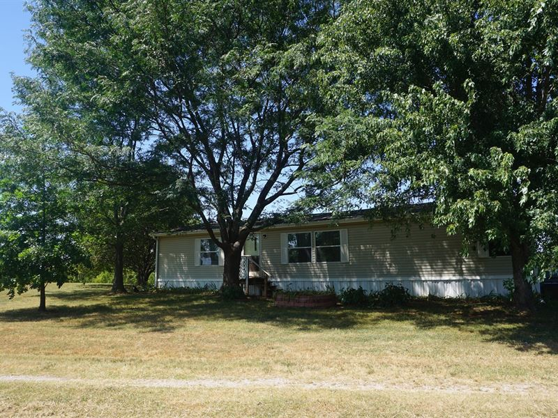 No Reserve Auction Home 115 Ac : Meeker : Lincoln County : Oklahoma