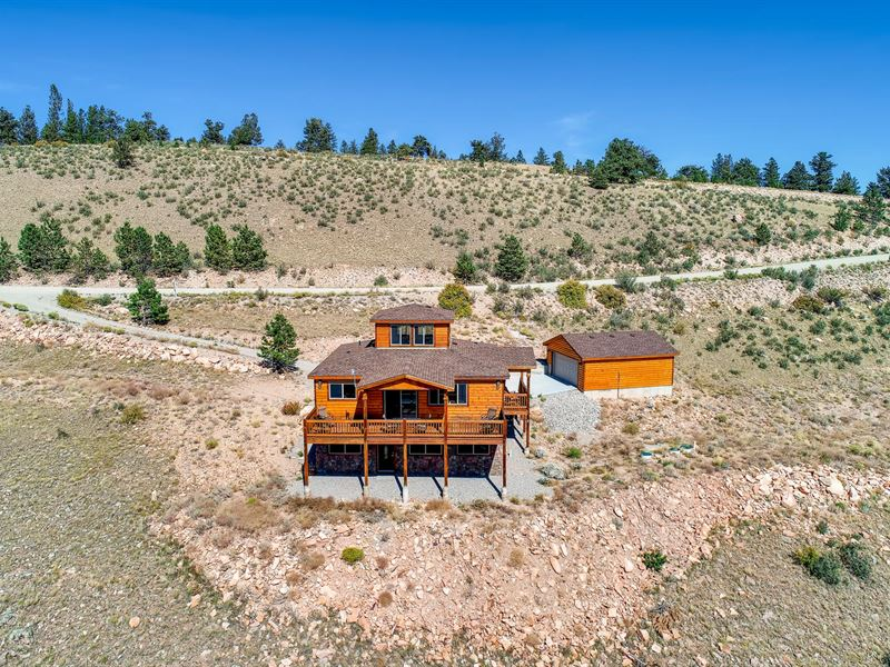 Cabin, Hunting & Fishing Rights : Fairplay : Park County : Colorado