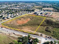 Signalized Corner Development Site : Spring Hill : Maury County : Tennessee