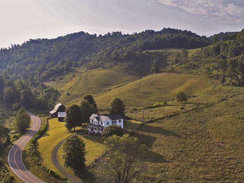 Mountain Country Home & Land : Saltville : Smyth County : Virginia