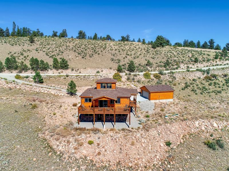 Log-Style Cabin & Hunting/Fishing : Fairplay : Park County : Colorado