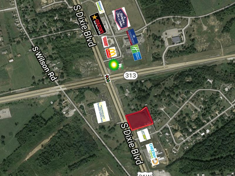 2.3+/- Acre Commercial Tract : Radcliff : Hardin County : Kentucky