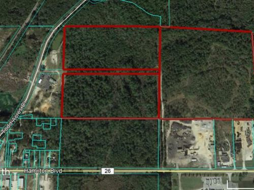 Vacant Land in Theodore, Al : Theodore : Mobile County : Alabama