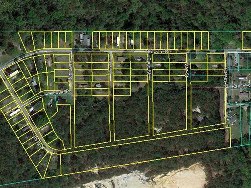 93 Lot Mobile Home Park & 6 Ac : Macon : Bibb County : Georgia
