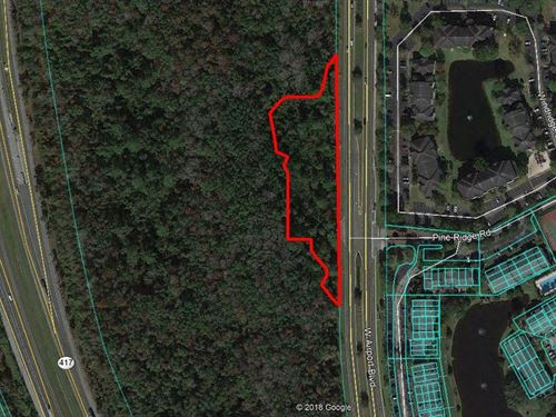 Commercial Land in Sanford, Fl : Sanford : Seminole County : Florida