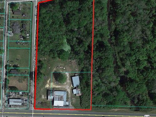 Commercial Building & 5 Ac : Fitzgerald : Ben Hill County : Georgia