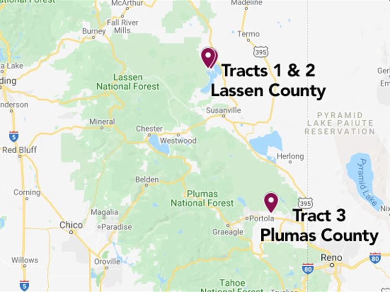 To Make an Offer, Please Call : Selling Separately : Lassen County : California