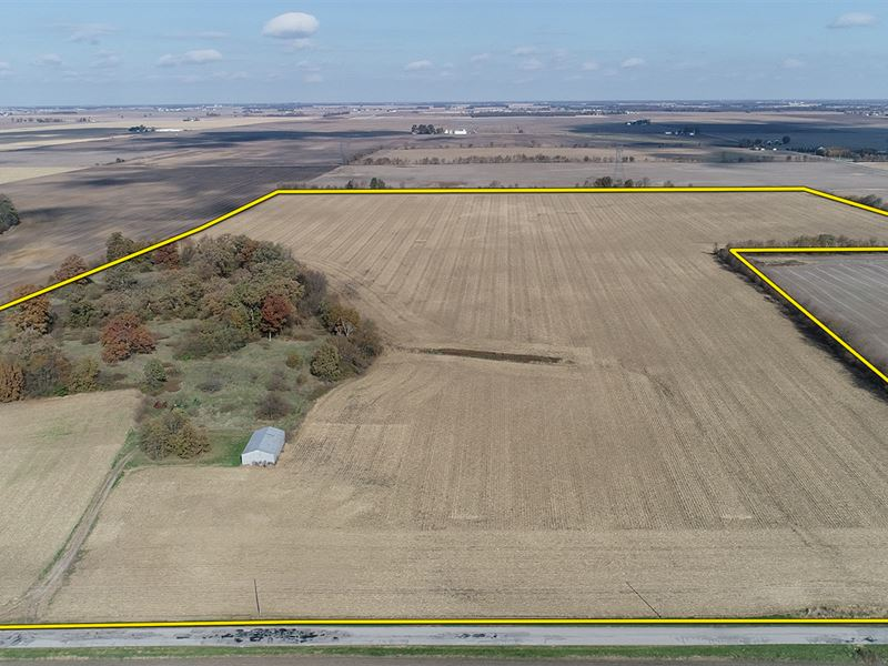 Land Auction In White Co, Indiana : Brookston : White County : Indiana