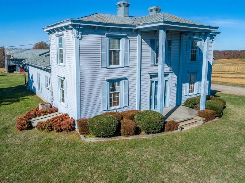 Danville VA 215 Ac Farm Auction Dec : Danville : Pittsylvania County : Virginia