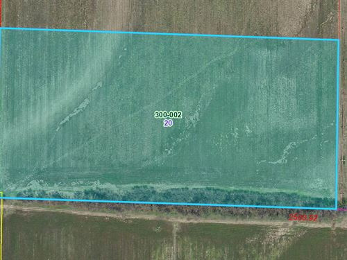 20 Acres Farm Ground at Auction : Hutsonville : Crawford County : Illinois
