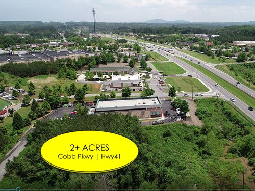 2.31 Acre Commercial Site : Acworth : Cobb County : Georgia