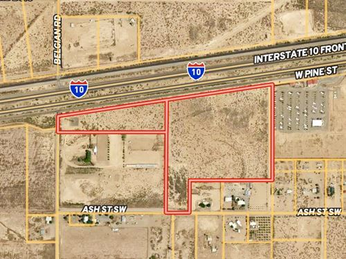 46+/- Acres & 45+ Residential Lots : Deming : Luna County : New Mexico