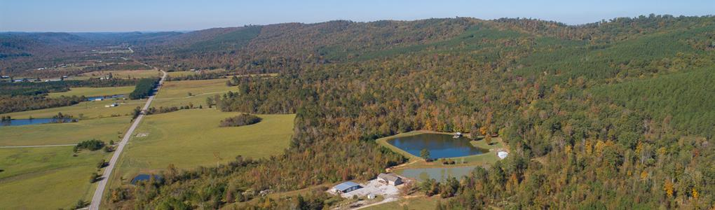 615 Acres With Home, Ponds + More : Ashville : Saint Clair County : Alabama