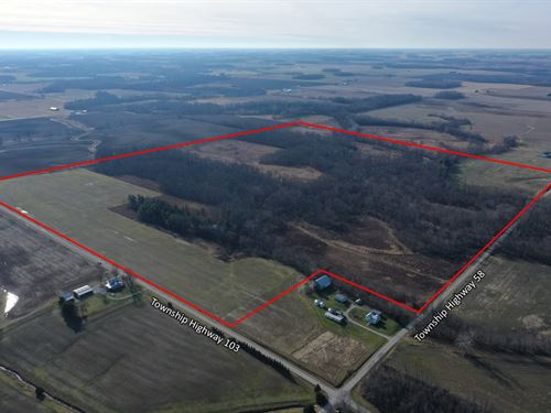 150 + Acres Richard S, Fox Estate : Upper Sandusky : Wyandot County : Ohio