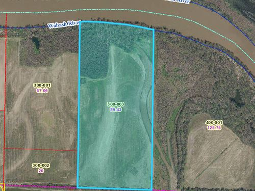 80 Acres to Sell at Auction : Hutsonville : Crawford County : Illinois