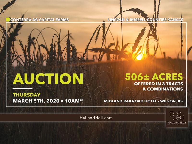 Productive Dryland Farmground : Sylvan Grove : Lincoln County : Kansas