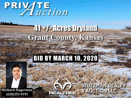 Grant County Ulysses, KS 41.8 Acre : Ulysses : Grant County : Kansas