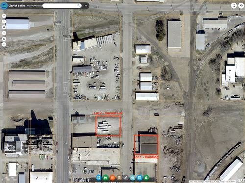 Vacant Commercial Building Lot : Salina : Saline County : Kansas