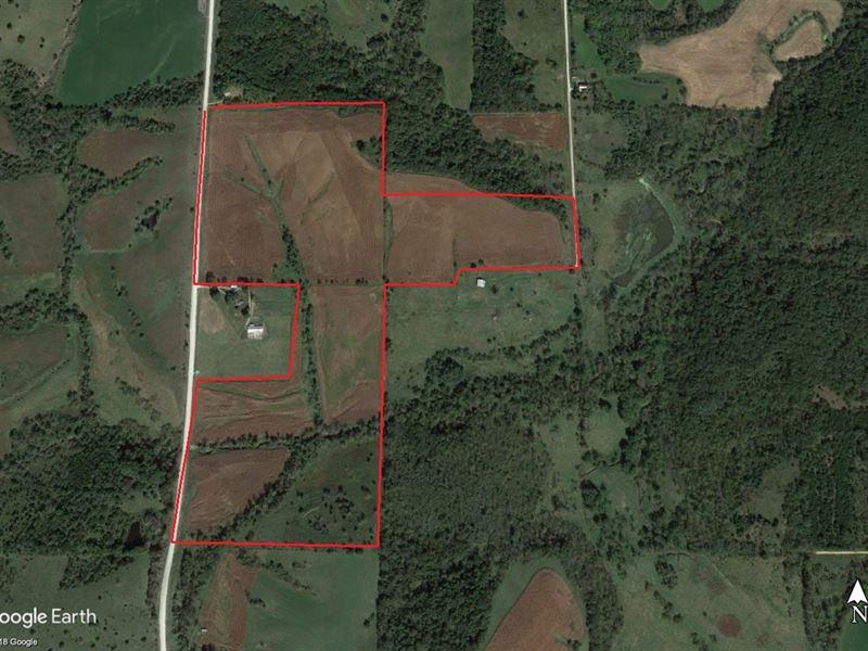 Lucas County 100 Acre Tillable : Chariton : Lucas County : Iowa