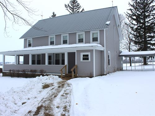 Real Estate Auction In Wisconsin : Deerfield : Dane County : Wisconsin