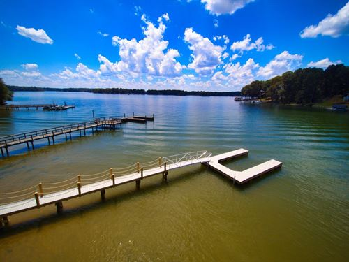Large Waterfront Lot Lake Norman : Troutman : Iredell County : North Carolina