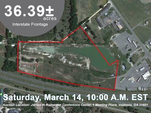 36.39 Acre Tract Along I-10 : Madison : Florida