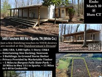 Farmhouse on Wooded Tract : Sparta : White County : Tennessee