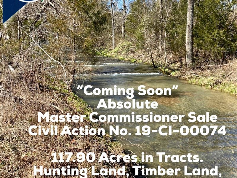 Hunting, Recreational, Cattle Farm : Columbia : Adair County : Kentucky