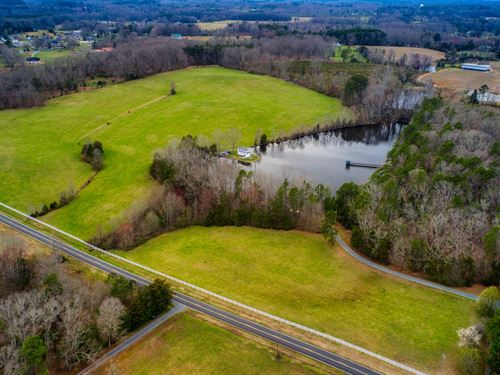 Beautiful Acreage Lake Stanly : Oakboro : Stanly County : North Carolina