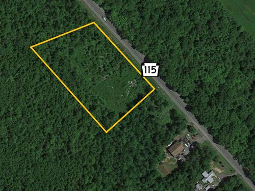 Commercial Lot on Route 115 : Blakeslee : Monroe County : Pennsylvania