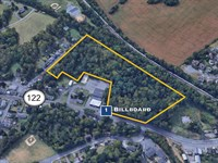 Development Site with Billboards : Phillipsburg : Warren County : New Jersey