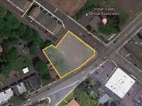 .6+/- Acre Corner Commercial Lot : Souderton : Montgomery County : Pennsylvania