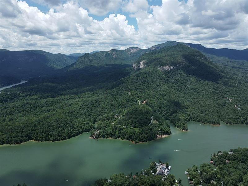 Beautiful Mountain Acreage : Lake Lure : Rutherford County : North Carolina