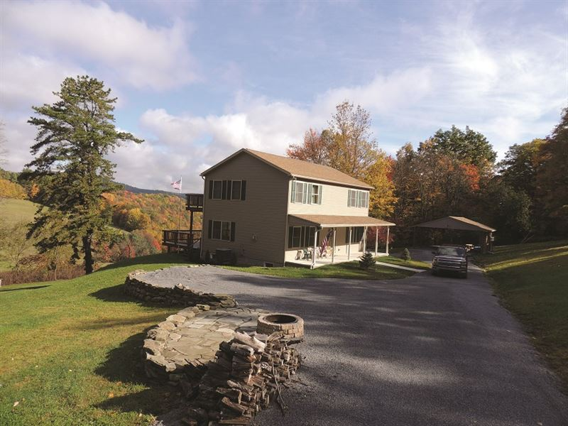 Auction, Hunter's Haven : Emporium : Cameron County : Pennsylvania