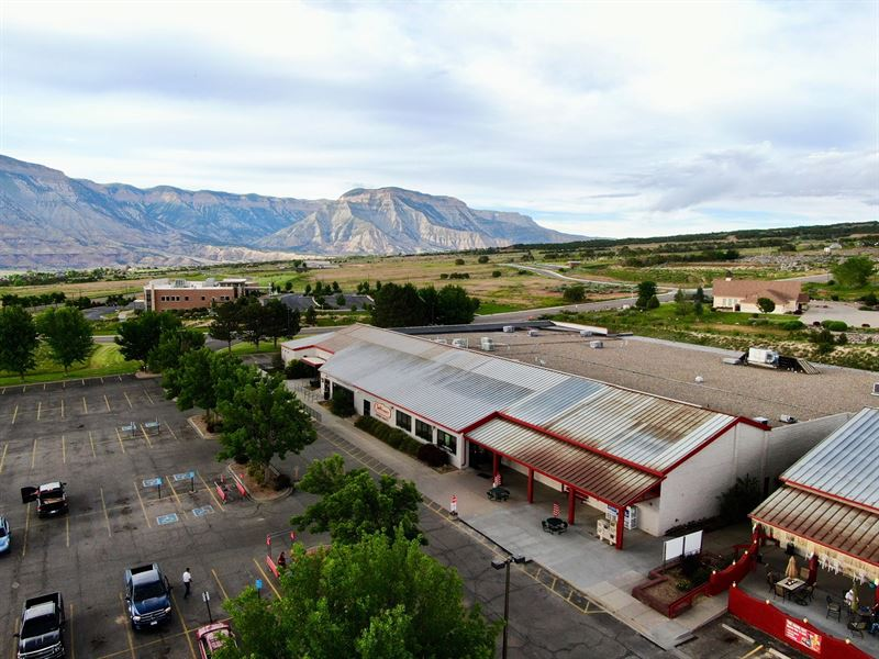 Western Colorado Commercial Center : Battlement Mesa : Garfield County : Colorado