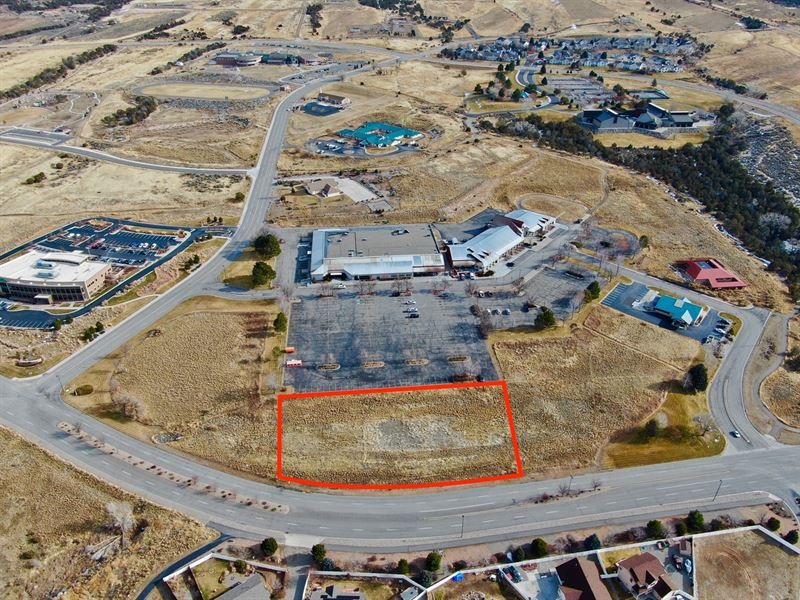 Prime Commercial Building Lot : Battlement Mesa : Garfield County : Colorado