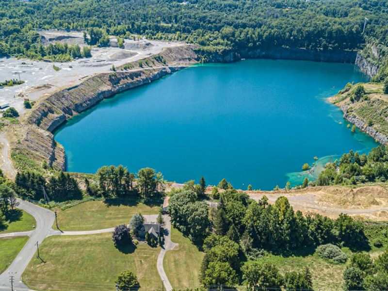 166 Acres, Former Quarry : New Hope : Bucks County : Pennsylvania