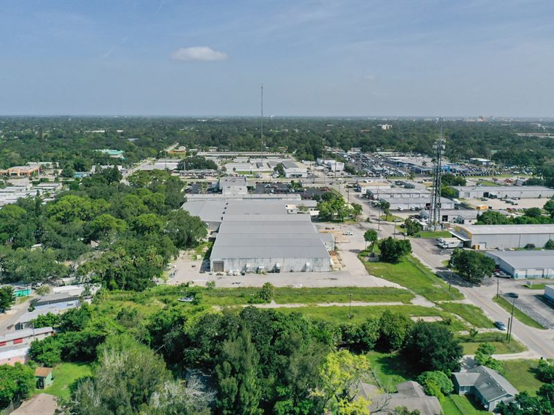 7.38 Ac Land with Vacant Warehouse : Bradenton : Manatee County : Florida