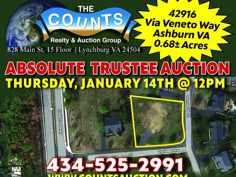 Park at Belle Terra Auction : Ashburn : Loudoun County : Virginia