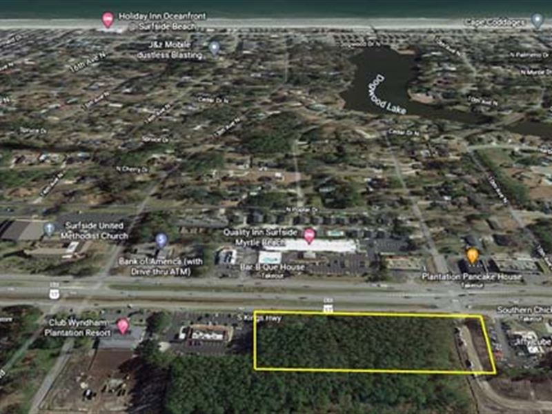 Absolute Auction, Comm Land : Surfside Beach : Horry County : South Carolina