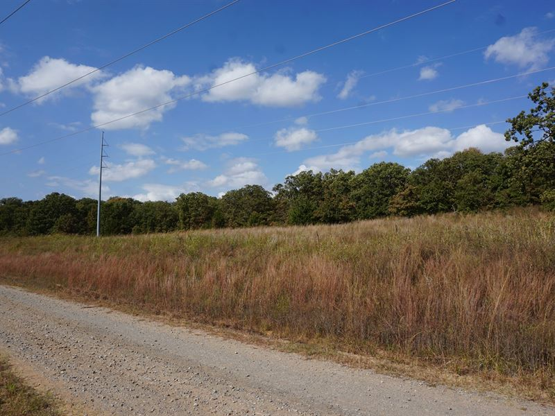 No Reserve Land Auction, 72 Acres : Wellston : Lincoln County : Oklahoma