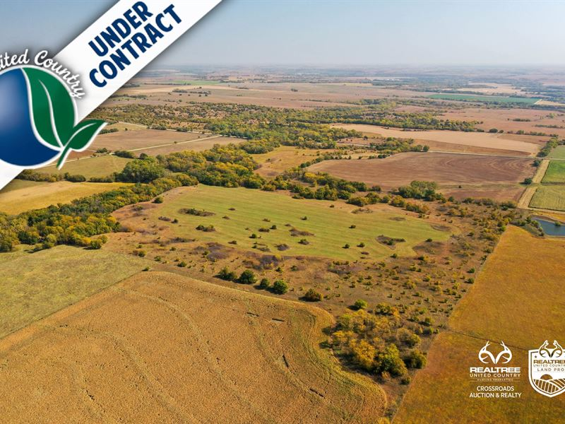 Tract 10, South 80-Acres, Farm : Chapman : Dickinson County : Kansas