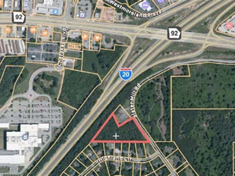 Commercial Potential Land : Douglasville : Douglas County : Georgia